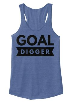 Goal Digger Eco Pacific Blue