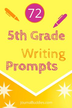 These 5th-grade writing prompts are sure to be a positive addition to the day for every student!  Sit back, relax, and watch as your students fall in love with the ideas  via @journalbuddies