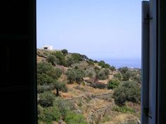 Rental house on a hill on the island of Siphnos in Greece