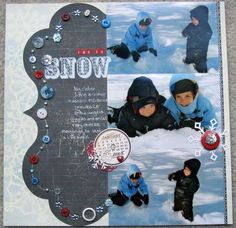 Use for inspiration Scrapbook.com B_snyder's Gallery: Let it Snow