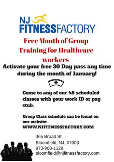 Are you in the healthcare field or do you know someone who is? Take advantage of a free month starting in January! & tell your healthcare friends to take advantage too!