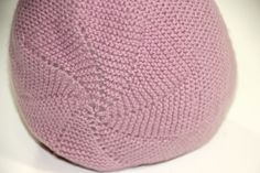 DIY Tejer: Cómo hacer capotas de punto para bebés