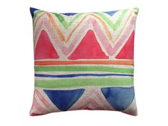 Watercolour Wonder cushion cover  - I Love Linen  - I Love Linen