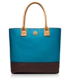 Tory Burch colorblock purse