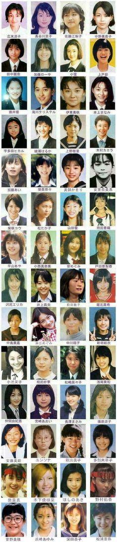 Japanese celebrities' on their school yearbooks. Printed Matter, Japan Girl, Japanese Beauty, Grace Kelly, My Idol, Cute Girls, Book Art, Beautiful Women, Actresses