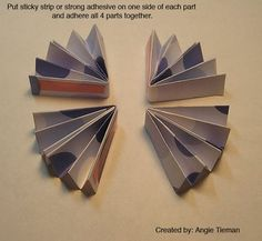schwooo! by stampinangie: Paper Rosette Tutorial