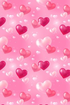 Bubbly hearts in shades of pink Love Wallpaper Backgrounds, Wallpaper For Your Phone, Heart Wallpaper, Pretty Wallpapers, Pink Wallpaper, Cellphone Wallpaper, Cool Wallpaper, Phone Backgrounds, Mobile Wallpaper