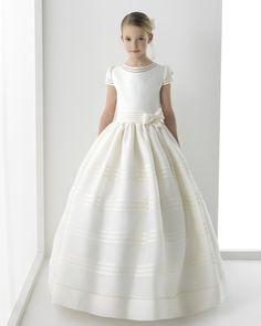 Silenia vestido de comunión Rosa Clara
