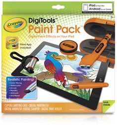 Crayola DigiTools Paint Pack - http://www.2013trends.net/store/crayola-digitools-paint-pack/