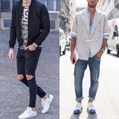 Left or right? 🎊 Yes 👍🏻 -- or No 👎🏻 comment! 👀👔👞DM FOR SHOUTOUTS! 📩📩 #styles #womensbest #girlfashion #fit  #fashiongirl #model #passion #girls #girlfriend #fashioninspiration #fashioninsta #modellife #streetstyle #streetphotography #streetwear #clothes #ladyfashion #hamburg #berlin #köln #münchen #ootn #ootd #fashionweek #travelgram #fit #todaysoutfit #fitness #hot #love