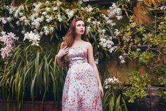 ALICE by Alisa Timofeeva NEW Satin Strapless Ball Gown by AlisaTimofeeva on Etsy