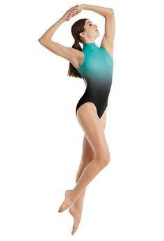 f27b1be9fb70 Ombre Back Cutout Leotard Dance Wear Solutions, Ballet Fashion, Polyester  Spandex, Leotards,