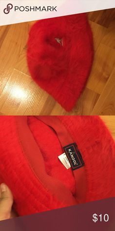 Red Kangol Hat Red Kangol Hat Kangol Accessories Hats