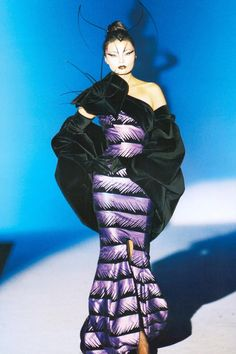 Irina Pantaeva, Thierry Mugler S/S 1997 Haute Couture