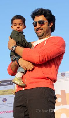 Abhishek Bachchan at the 'I Can' women's half marathon #Style #Bollywood #Fashion #Handsome