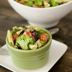 A zesty broccoli #salad perfect for summer meals