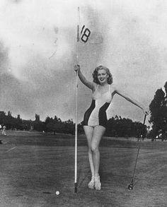 Marilyn Monroe in 1947.