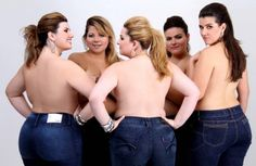 proud curvy women - i had this as my cover on facebook and many people responded in a fabulous way!