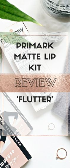 Makeup product review. Matte lip kits are everywhere right now thanks to the Kylie lip kits. I picked up a very purse friendly one from Primark. Click to read my review.