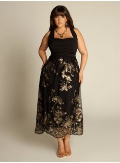 plus size plus size beaded dress
