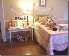 Chic Party: Pancakes and Pajamas birthday party!