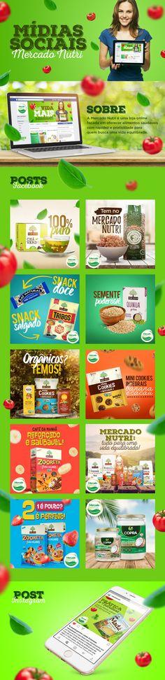 Mercado Nutri │ Mídias Sociais on Behance