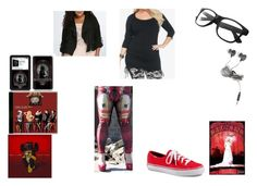 """""""I'm Team Deadpool AKA I'm Staying Out Of It."""" by chrissy-cdm ❤ liked on Polyvore featuring Torrid, DK and Forever 21"""