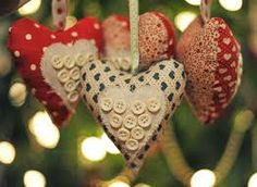 Image result for handmade fabric hearts