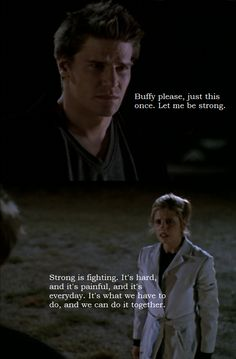 """""""Strong is fighting. It's hard and it's painful and it's everyday. It's what we have to do and we can do it together."""""""