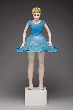 Sara Lisch Ceramic Figures, Elsa, Disney Characters, Fictional Characters, Sculptures, Illustrations, Dolls, Disney Princess, Photos