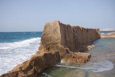 Phoenician Wall, Batroun, Lebanon.