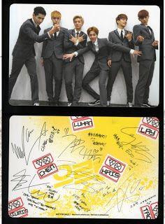 FavKpopShop: EXO Growl Replica Photocards