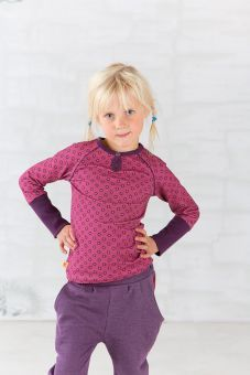AlbaBabY Daphne Blouse rose with flowers