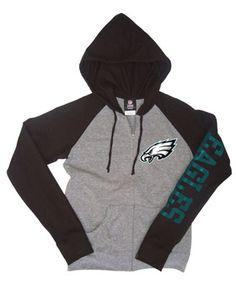 #Eagles #NewEra Full-Zip Hooded Sweatshirts.