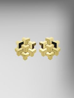 18kt Yellow Gold Brillantissimo Earclips