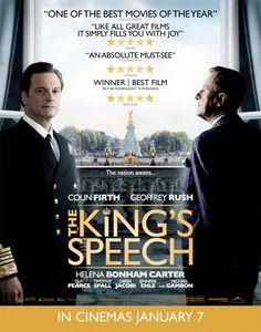Fantastic movie, The king's speech (2010)
