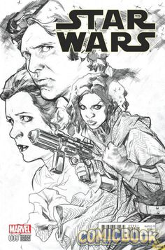 Star Wars #9 variant cover by Stuart Immonen *