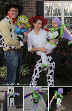 Family Toy Story Costumes. Handmade in the Heartland