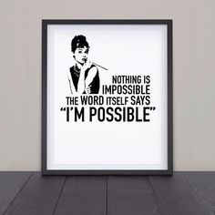 Nothing is impossible - Audry
