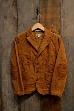 For that authentic Wes Anderson look - Bedford Jacket Brown 8W Corduroy by Engineered Garments FWK #thenatty #nattyguy #mensfashion