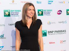 Simona looks😎😎 at Wta Finals Singapore