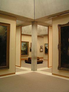 Yale Center for British Art -  interior exhibition spaces 4 - Louis Kahn