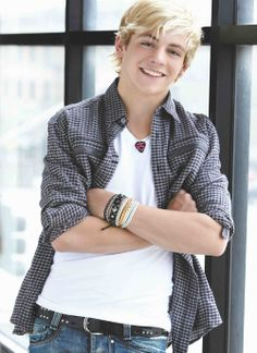 Ross Lynch in lighter colors in a lighter setting because that's where he BELONGS!