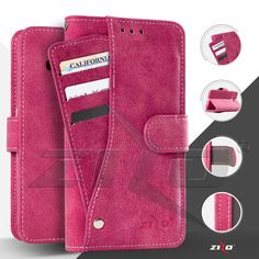 Zizo Organizer Wallet TPU Case For Alcatel Stellar Pouch with Credit Card IDs Holder Cover -- Awesome products selected by Anna Churchill