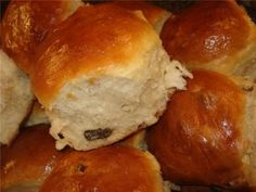 Rolls for dinner in 2 hours / Fashion Style Just Cooking, Sweet Recipes, Gem, Hamburger, Rolls, Cooking Recipes, Sweets, Bread, Dinner