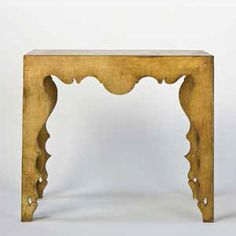 Rococo Console Table Goldleaf
