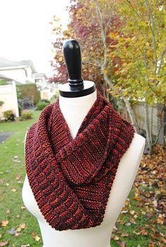 Lochlyn Cowl pattern by Judy Marples