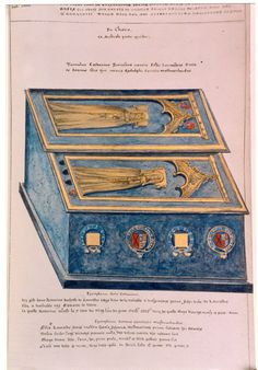 Dugdale's drawing of Joan Beaufort's and Katherine Swynford's Lincoln Cathedral tombs Richard Iii, Tudor History, British History, Asian History, Uk History, European History, Catherine De Valois, Persona, Lovers