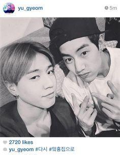 Yugyeom and Mark