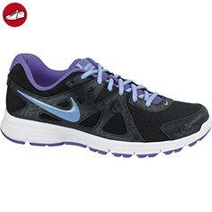 Nike , Damen Laufschuhe Multicolor, Schwarz / Blau, 39 - Nike schuhe (*Partner-Link)